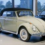 1960 VW Beetle Cabriolet